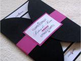 Jeweled Wedding Invitations A Little Bling Wedding Invitation