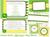 John Deere Baby Shower Invites Free Printable John Deere Baby Shower Invitations