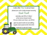 John Deere Baby Shower Invites John Deere Baby Shower Invitation Baby Shower