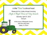 John Deere Baby Shower Invites John Deere Baby Shower Invitation