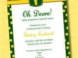 John Deere Baby Shower Invites John Deere Baby Shower Invitations