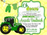 John Deere Baby Shower Invites John Deere Baby Shower Invitations Template