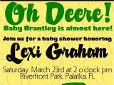 John Deere Baby Shower Invites Pin by Jyl Rottger On Baby Shower Ideas