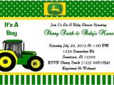 John Deere Baby Shower Invites Unavailable Listing On Etsy
