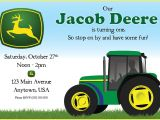 John Deere Party Invitations Free John Deere Birthday Party Invitations Best Party Ideas