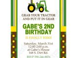 John Deere Party Invitations Free John Deere Inspired Printable Invitation 1 Diy Green Yellow