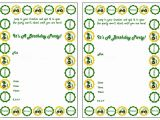John Deere Party Invitations Free John Deere Invitations John Deere Birthday Invitations