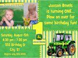John Deere Party Invites John Deere 1st Birthday Invitations Dolanpedia