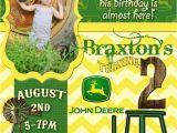 John Deere Party Invites John Deere Birthday Quotes Quotesgram