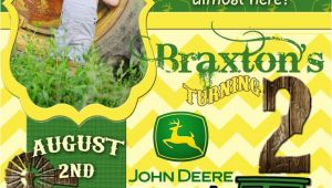 John Deere Party Invites John Deere Birthday Quotes Quotesgram