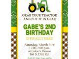 John Deere Party Invites John Deere Inspired Printable Invitation 4 Diy Green Yellow