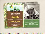 John Deere Party Invites the Gallery for Gt John Deere Tractor Invitations