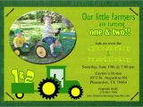 John Deere Tractor Birthday Party Invitations John Deere Birthday Invitations Ideas Bagvania Free