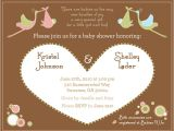 Joint Baby Shower Invitation Wording Joint Baby Shower Invitations