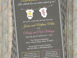 Joint Baby Shower Invites Joint Baby Shower Invitation Onesies by Freshlysqueezedcards