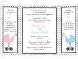 Joint Baby Shower Invites Joint Baby Shower Invitations