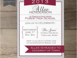 Joint Graduation Party Invitations Items Similar to Printable Graduation Invitation