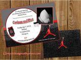 Jordan Baby Shower Invitations Jordans Basketball Baby Shower and Jordan Basketball On