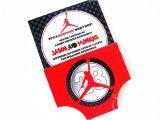 Jordan themed Baby Shower Invitations Air Jordan Jumpman Baby Shower Invitation $12 75 Invite