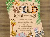 Jungle Birthday Invitation Template Free Safari Birthday Invitation Jungle Birthday Invitation Zoo