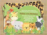 Jungle Book Birthday Invitation Template 17 Animal themed Invitation Designs Templates Psd Ai