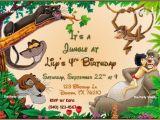 Jungle Book Birthday Invitation Template Jungle Book Birthday Invitation by thepartysmarty On Etsy