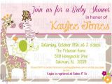 Jungle Jill Baby Shower Invitations Jungle Jill Baby Shower Invitation Customized by Bdpdesigns
