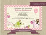 Jungle Jill Baby Shower Invitations Jungle Jill Baby Shower Invitation Jungle Jill by Freemsdream