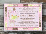 Jungle Jill Baby Shower Invitations Jungle Jill Baby Shower Invitation Printable