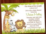 Jungle theme Baby Shower Invitation Templates 8 Best Of Jungle theme Invitations Free Printable