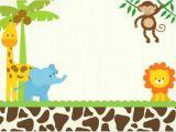 Jungle theme Baby Shower Invitation Templates Jungle Invitation Template Invitation Template