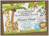Jungle theme Baby Shower Invitation Wording Baby Shower Invitation New Jungle theme Baby Shower