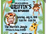 Jungle theme Party Invitation Templates 17 Safari Birthday Invitations Design Templates Free