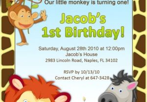 Jungle theme Party Invitation Templates 322 Best Animal Party Invitations Images On Pinterest