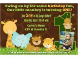 Jungle theme Party Invites 17 Safari Birthday Invitations Design Templates Free