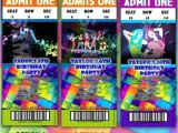 Just Dance Birthday Party Invitations Just Dance Dance Parties and Party Invitations On Pinterest