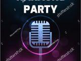 Karaoke Party Invitation Template 21 Karaoke Flyer Templates Free Premium Psd