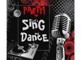 Karaoke Party Invitation Template Karaoke Birthday Party Invitations