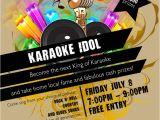 Karaoke Party Invitation Template Karaoke Invitation