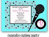 Karaoke Party Invitation Templates Modal Title
