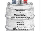 Keg Party Invitations Beer Keg Party Invitations Beer Birthday Party Invitations