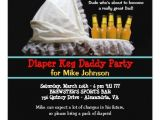 Keg Party Invitations Diaper Keg Party Invitations New Dad Baby Party Zazzle