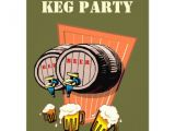 Keg Party Invitations Keg Party Beer Kegs Tapped Octoberfest Invitations 4 25 Quot X