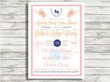 Kentucky Derby Baby Shower Invitations Items Similar to Kentucky Derby Baby Shower Invitation On Etsy