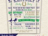 Kentucky Derby Baby Shower Invitations Kentucky Derby Baby Shower Printable Invitation Custom