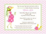 Kentucky Derby Baby Shower Invitations Pink Kentucky Derby Baby Shower Invitations