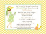 Kentucky Derby Baby Shower Invitations Yellow Kentucky Derby Baby Shower Invitations