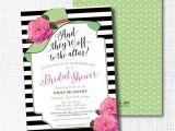 Kentucky Derby Bridal Shower Invitations Kentucky Derby Bridal Shower Invitation Hot Pink and