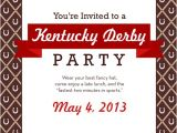 Kentucky Derby Party Invitation Ideas Kentucky Derby Party Ideas and Menu Bakin 39 Bit