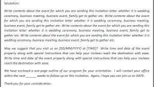 Keynote Birthday Invitation Template 20 Invitation Letter Birthday sowtemplate